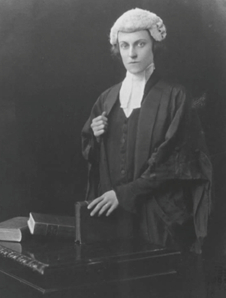 Sybil Morrison, first female barrister to practise in New South Wales